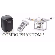 Drone Combo Dji Phantom Prof. P3 + Case+02 Bateria Reserva