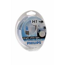 Lampada H1 Philips 4300k Crystal Vision Ultra + Pingão