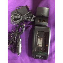 Carregador Camera Filmadora Sony Canon Samsung Jvc Nikon Rca