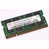 Memoria Ram 1gb Hynix Ddr2 2rx8 Pc5300 Lote (08 Unidades)