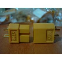 Conector Xt60 (par) Um Macho E Um Fêmea (original)