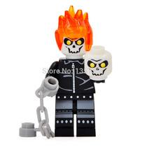 Minifigure Motoqueiro Fantasma (compatível Com Lego)