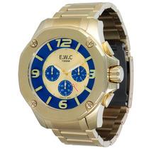 Relógio Masculino Ewc Octagon Emt14027-6