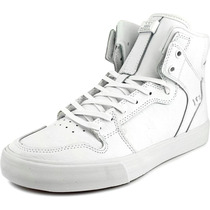 Supra Vaider Homens Skate Sapatos De Couro