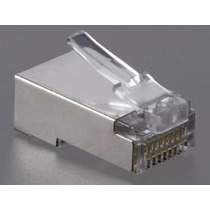 Conector Rj45 Macho Cat5 Cat6 Blindado High Quality 1 Un