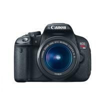 Canon Rebel T4i + Lente 18-55mm + Bolsa - Semi-nova