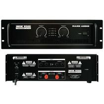 Amplificador Potência Profissional Stéreo Mk8500 1500 Watts
