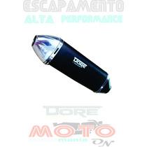 Escapamento Cb 300 Dore Honda Todas As Cores Alto Desempenho