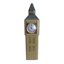 Lata Torre Londres Relogio Big Ben Bomboniere Decorativa