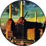 Relógio De Parede Em Disco De Vinil, Pink Floyd, Animals