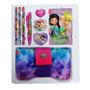 Kit Escolar Estojo Escolar Barbie E As Fadas Tecido 9 Pçs
