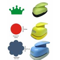 Kit Circulo Escalope 4,5cm + Liso 3,2cm + Coroa 2,5cm