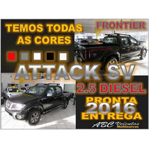 Frontier 2.5 Sv Attack 4x4 Diesel Ano 16/16 - Pronta Entrega