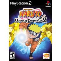 Naruto Uzumaki Chronicles (coleção 3 Jogos) - Ps2- Frete Gra