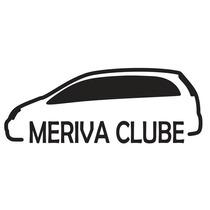 Adesivo Decorativo Parabrisa Carro Club - Meriva Clube