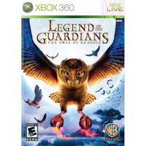 Jogo Xbox 360 Legend Of The Guardians Original E Lacrado