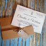 80 Convites Rústicos De Casamento Personalizados Lindos Laço