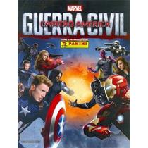 Figuririnhas Avulsas Capitão América Guerra Civil Panini