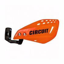 Protetor De Mão Circuit Vector Laranja Haste De Nylon
