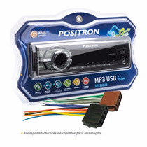 Auto Rádio Positron Sp2210ub Usb Micro Sd P2 Garantia 2 Anos