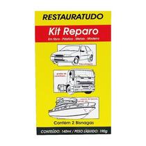 Kit Reparador Restaura Casco De Barcos Parachoques Grades