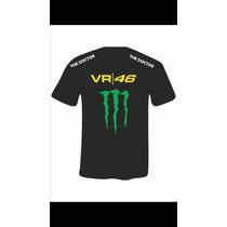 Camiseta Vr 46 Símbolo Monster