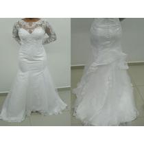 Vestido Noiva Sereia Longo Noiva Casamento - Pronta Entrega