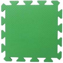 Tatame Eva Verde Bandeira 50x50x2cm 20mm