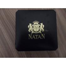 Natan Feminino Quartz Folheado À Ouro Caixa 23 Mm Original