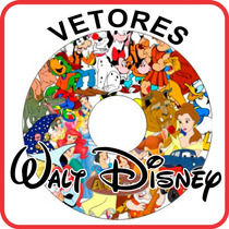 +d14.400 Imagens Disney Vetores Corel - Cdr - Ai - Wmf - Gif