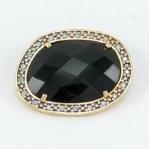 Esfinge Jóias - Pingente Ônix E Diamantes Em Ouro 18k 750.