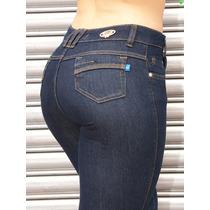 Calça Azul Escura Hot Pants Temos Sawary Levanta Bumbum 858
