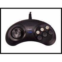 Controle Mega Drive Master System 6 Botoes Novo+garantia!!!