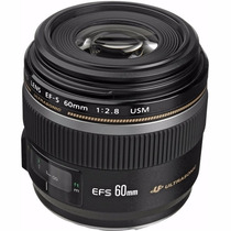 Lente Canon 60mm F/2.8 Macro Usm