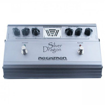 Pedal Rocktron Para Guitarra Valvulado Silver Dragon Prata
