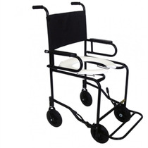 Cadeira De Rodas Banho Com Pés E Braços Escamoteáveis Cds