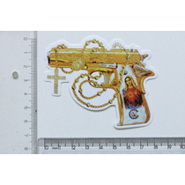 Adesivo Pistola 1911 Glock Beretta Taurus Guadalupe Revolver