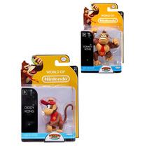 Minifiguras World Of Nintendo Donkey Kong E Diddy Kong