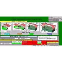 Planilha De Cálculo De Orçamento E Quantidade De Telhas