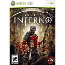 Dantes Inferno - Xbox 360 - Sem Manual - Madgames
