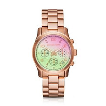 Lançamento Michael Kors Watches Runway Chronograph Stainles