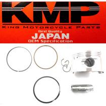 Pistão Kit Com Anéis Shineray 70cc 0,50mm