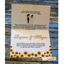 10 Convite De Casamento Simples Barato Bonito Floral Amarelo