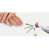 5 Lixas Unha Elétrica Manicure Profissional Sem Fio Pedicure