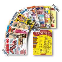 Coleção Modular De Desenho A Mão Livre - 10 Revistas + Livro