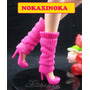 Sapato Com Polaina Para Boneca Barbie * Sapatinho Fashion