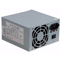 Fonte Atx 400w Nominal (200w Real) Para Pc Sem Cabo