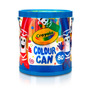 Kit Baldinho Com 80 Canetinhas Color Can - Crayola