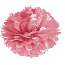 Flor De Seda Pom Pom Festa Junina Rosa