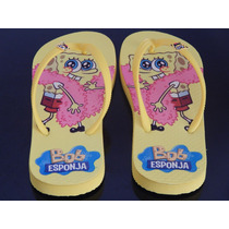 Chinelo Do Bob Esponja
